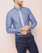 DAVYBEE Jacquard cotton shirt