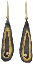 Jamie Joseph Gold Riveted Dome Wing Earrings