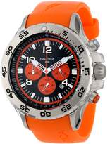 Nautica Men's N14538G NST Stainless Steel Watch with Resin Band
