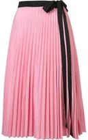 Tome 'Pleated Wrap' skirt - women - Polyester - XS