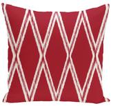 Bold Geometric Outdoor Floor Pillow