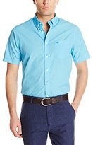 Dockers Short Sleeve No Wrinkle Signature Check Button Down Shirt