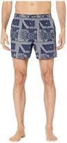 Polo Ralph Lauren Bandana Woven Boxer Printed (Cruise Navy/Bandana Print/Crescent Cream Pony Print) Men's Underwear