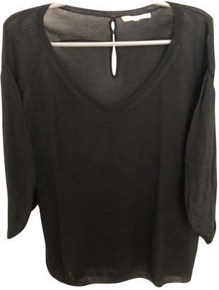 Vanessa Bruno Black Silk Knitwear for Women