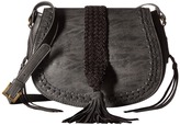 Steven Braided Saddle Bag