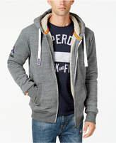 Superdry Men's Orange Label Winter Hoodie