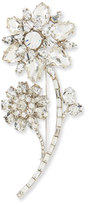 Kate Spade Large Crystal Flower Pin