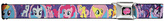 My Little Pony Purple Chrome-Buckle Belt - Girls