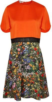 Stella McCartney Libby floral-print panelled silk dress