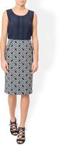 Monsoon Jolita Ikat Print Skirt