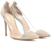 Gianvito Rossi Suede And Transparent Pumps
