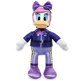Disney Daisy Duck Plush - Mickey and the Roadster Racers - Small - 9 1/2''