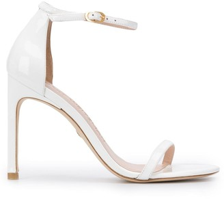 Stuart Weitzman Nudistsong 100mm high heel sandals