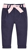 Mothercare Girl's Navy Twill Trousers,12-18 Months (Manufacturer Size:86)