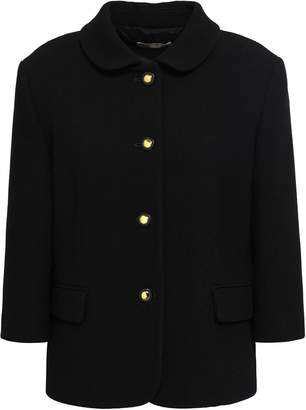 Michael Kors Wool-blend Crepe Jacket