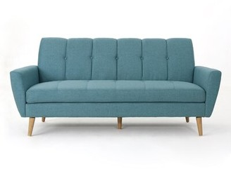 Sunnydale Mid Century Sofa Wrought Studio Upholstery Color: Blue