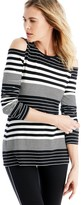 Sole Society Cold Shoulder Knit Top