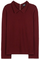 A.P.C. Mireille Wool Blouse