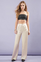 Forever 21 Faux Leather Tube Top