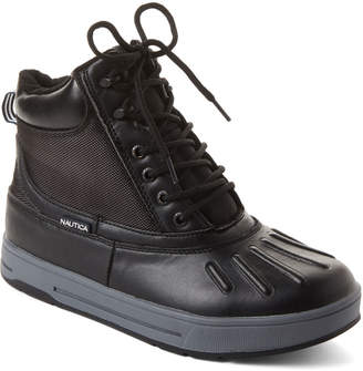Nautica Black New Bedford Duck Boots