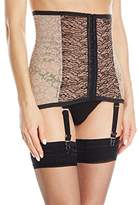 Rago Women's Firm Shaping Fashion Waist Cincher With Removable Garters
