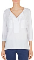 Gerard Darel Talia Patch-Pocket Top
