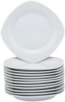 10 Strawberry Street 12-pc. Square Salad Plate Set