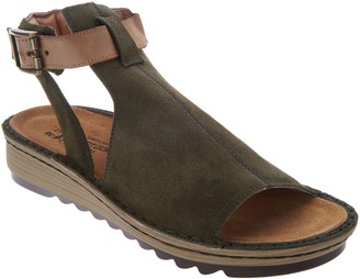 Naot Footwear Leather Mule Sandals - Verbena