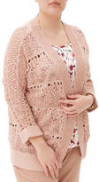 Junarose Crocheted Lace Cardigan
