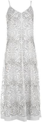 Biba Logo Maxi Dress