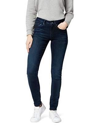 G Star Women's Midge Zip Mid Waist Skinny Jeans