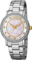 Akribos XXIV Womens Silver Tone Bracelet Watch-A-880ss