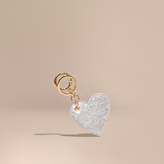 Burberry Sequinned Heart Key Charm
