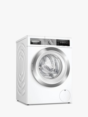 Bosch Serie 8 WAX32GH4GB Freestanding Washing Machine, 10kg Load, 1600rpm Spin, White