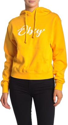 Obey Starry Script Knit Hoodie