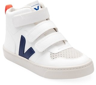 Veja Baby's & Little Kid's V-Logo High-Top Leather Sneakers
