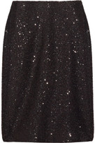 Collection Mayfair sequin-embellished pencil skirt