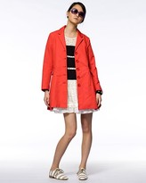 Marc by Marc Jacobs Ribbed Trench Coat