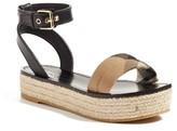 Burberry Women's Parkeston Espadrille Sandal
