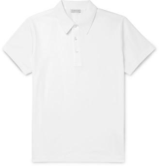 Moncler Cotton-Pique Polo Shirt