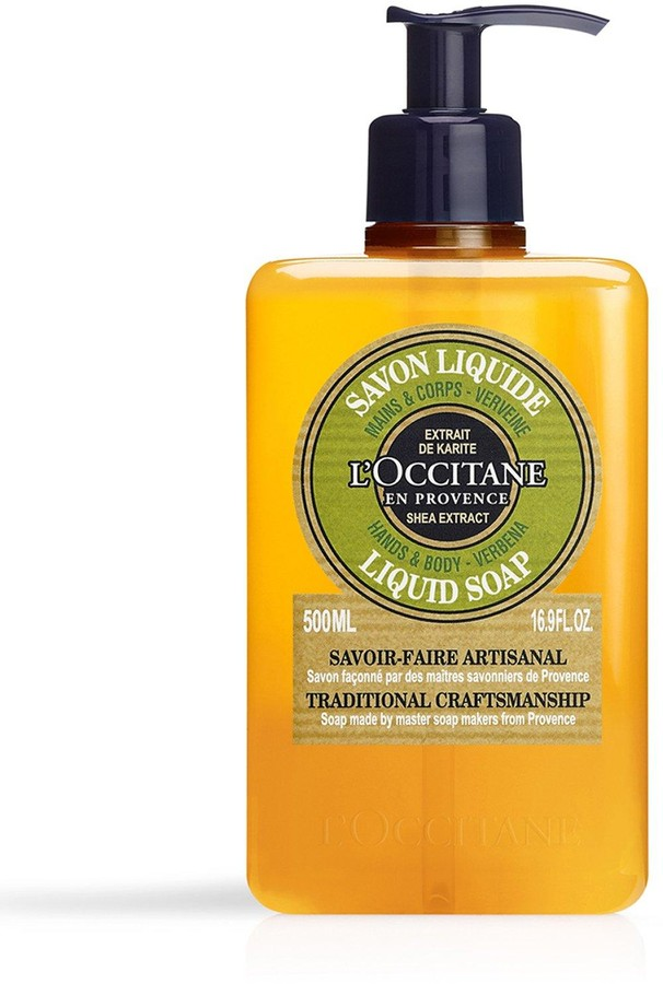 L'Occitane Shea Butter Verbena Liquid Soap 500ml