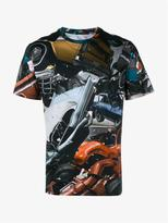 Christopher Kane Car Crash Print Cotton T-shirt