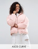 Asos Short Puffer Jacket