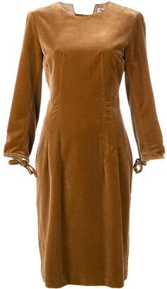 Acne Studios Velvet Midi Dress