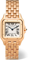 Cartier Panthère De Medium 18-karat Pink Gold Watch - Rose gold