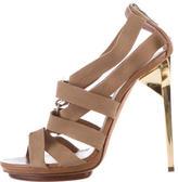 Herve Leger Clara Multistrap Sandals