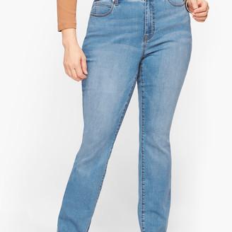 Talbots Plus Size Exclusive Straight Leg Jeans - Fillmore Wash
