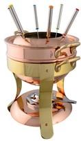Mauviel M'Tradition Copper Fondue Set