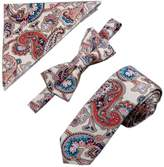 Kylin Express Mens Fashionable Wedding Ties Set Necktie/Bow Tie/Pocket, Special Pattern