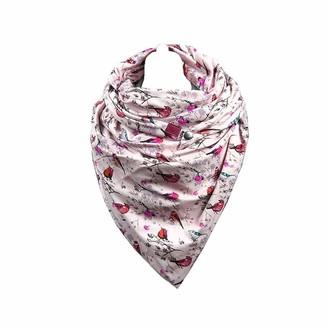 Hiser Women's Triangle Scarf Wrap Winter Warm Infinity Fashion Neck Warmer Scarves Unisex Shawl Button Soft Classic Retro Oversized (150x75cm